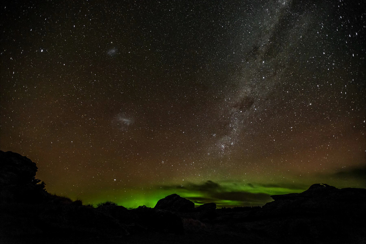 Aurora Australis over Middlemarch