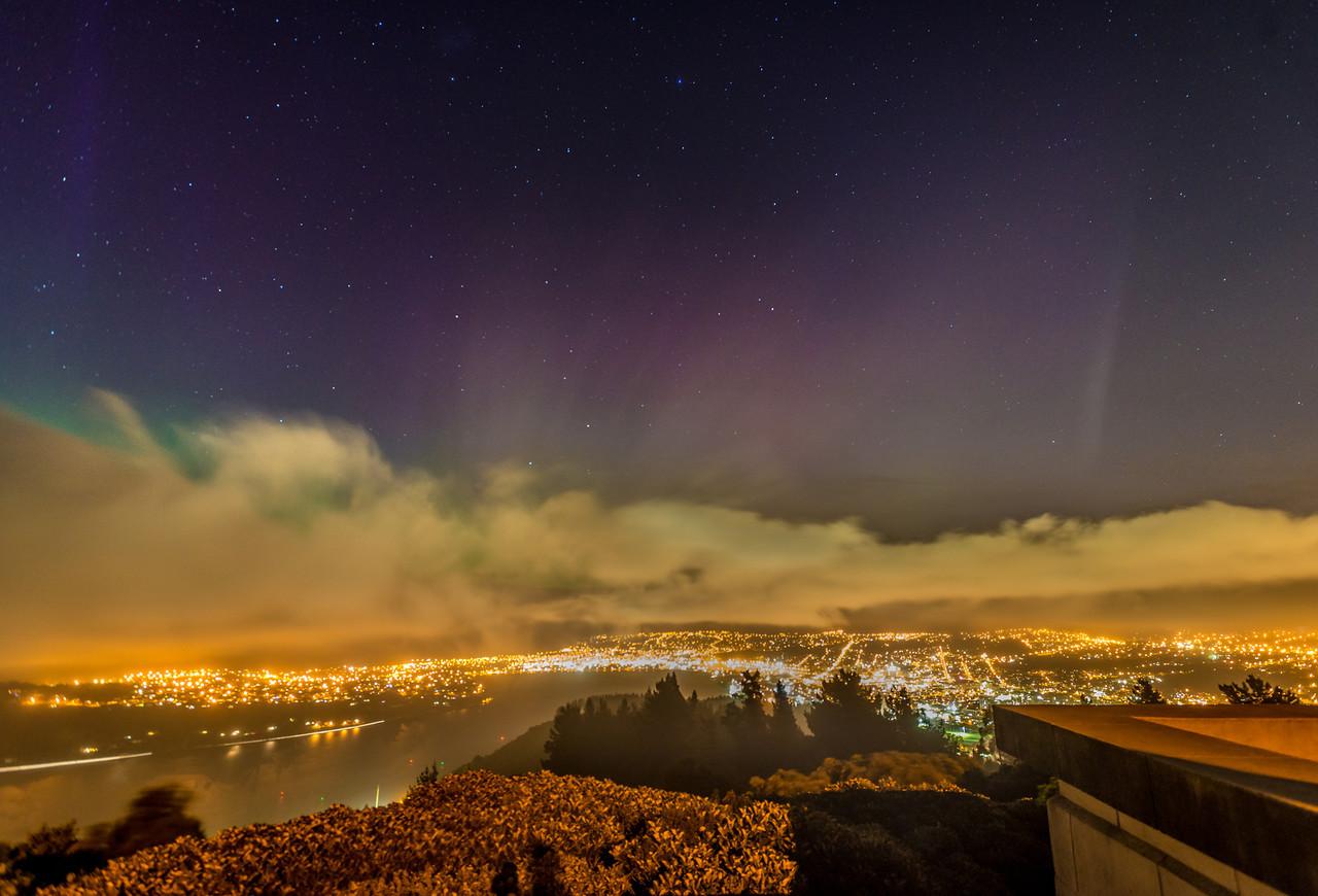 Signal Hill, Dunedin. 19 February 2014, h22:23