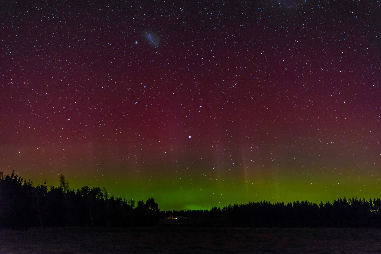 Aurora australis out of Gore