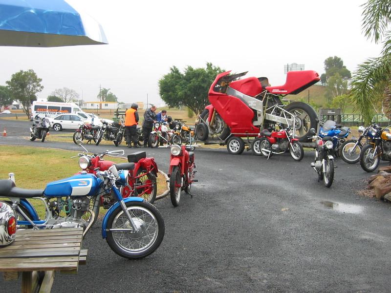 Lunch stop at Marburg bike museum