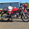 One of about 5 Morini twins on the ride this year.
