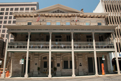 Typical Architecture of Austin's older buildings.