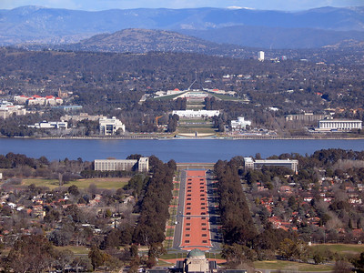 Canberra from Mt. Ainslie
