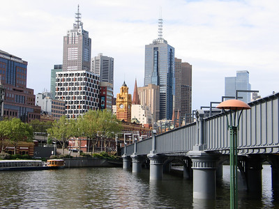 Melbourne View from Southbank