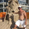 Australian Sand Sculpting Championships 2012, Surfers Paradise, Gold Coast, Queensland.