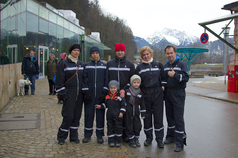Salzburg, salt mine