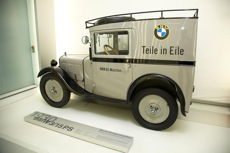 Munich, BMW museum, BMW 3