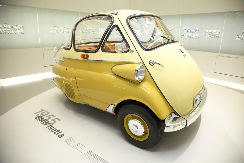 Munich, BMW museum, Isetta
