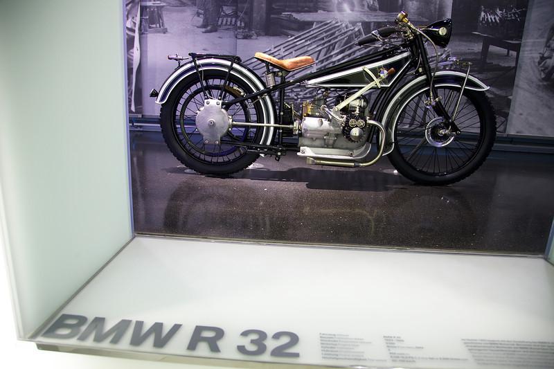 Munich, BMW museum, BMW R32