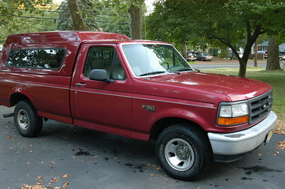 Ford F150.  Sold.  She was a good truck for me.