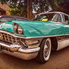 1956 Packard photographed at 16th Annual Loudonville Car Show in Loundonville, Ohio on July 2, 2016. Photo by Joe Frazee.