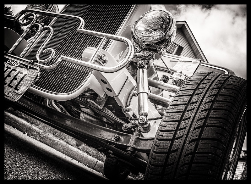 1932 Ford photographed in Utica, Ohio on September 24, 2016. Photo by Joe Frazee.