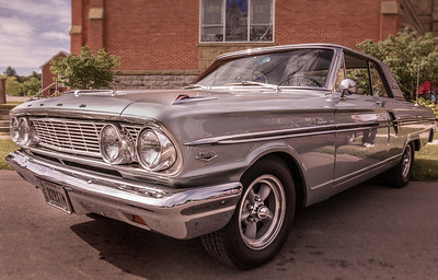 1964 Ford Fairlane photographed at 16th Annual Loudonville Car Show in Loundonville, Ohio on July 2, 2016. Photo by Joe Frazee.