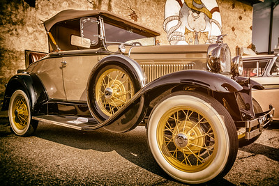 1930 Ford photographed during the Dan Emmett Music & Arts Festival in downtown Mount Vernon, Ohio on August 11, 2013.
