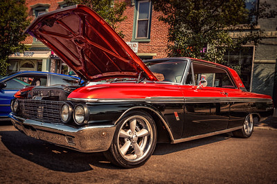 Galaxie 500XL photographed during the Dan Emmett Festival car show on August 16, 2015.