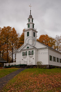The Old Meeting House on Center Rd - East Montpelier, VT