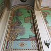 Atlantis inspired tiled murals.