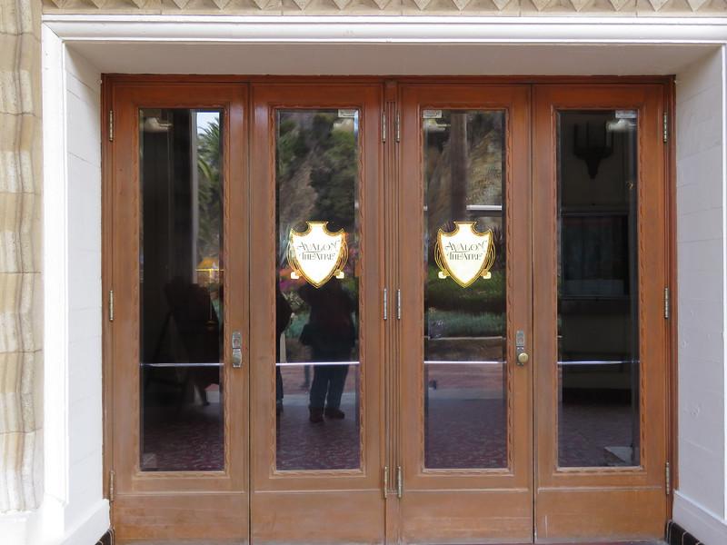 Theatre entrance.