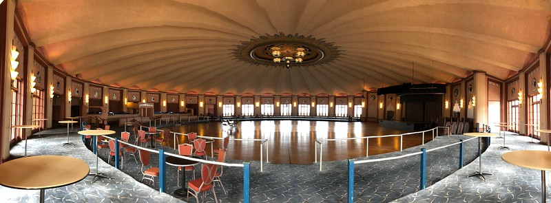 Another panorama of the ballroom done with my iPhone.