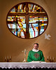 'Ave Maria' : Father August Stewart, Pastor of Ave Maria Parish, Parker Colorado and Father Joseph Dygert, former Parochial Vicar and Fr. David Boroff, Parochial Vicar.