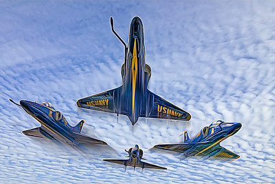 Blue Angels Electric Composite