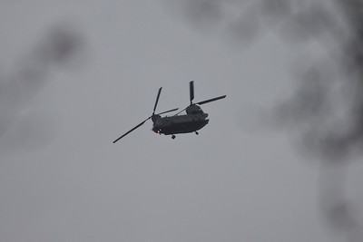 Chinook ZH777 out of RAF Chicksands