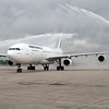 Air France brings their A340 to inaugurate service to KMSP<br /> <br /> KMSP May 2013