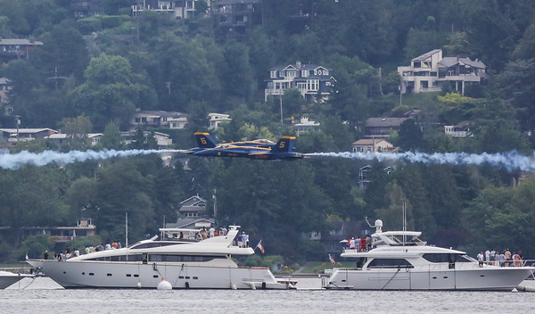 Blue Angels Seafair 2014