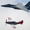 F15 & P51 McCord Airshow 07/08