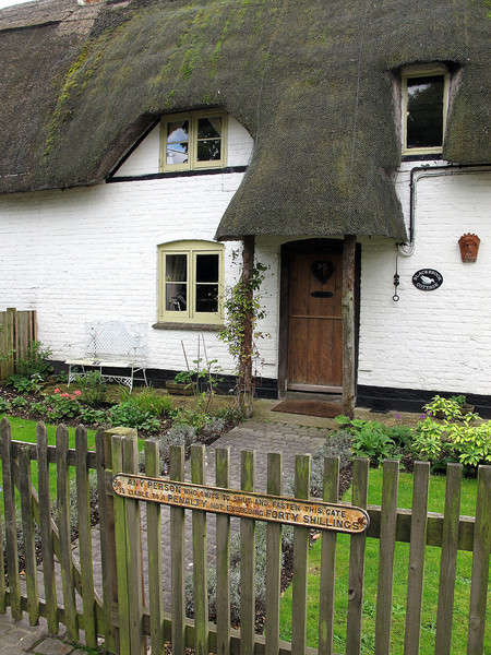A cottage at Hale village.