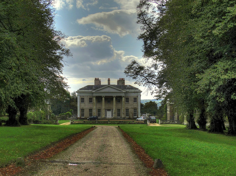 Hale House built by T Archer when he acquired the estate in 1715.