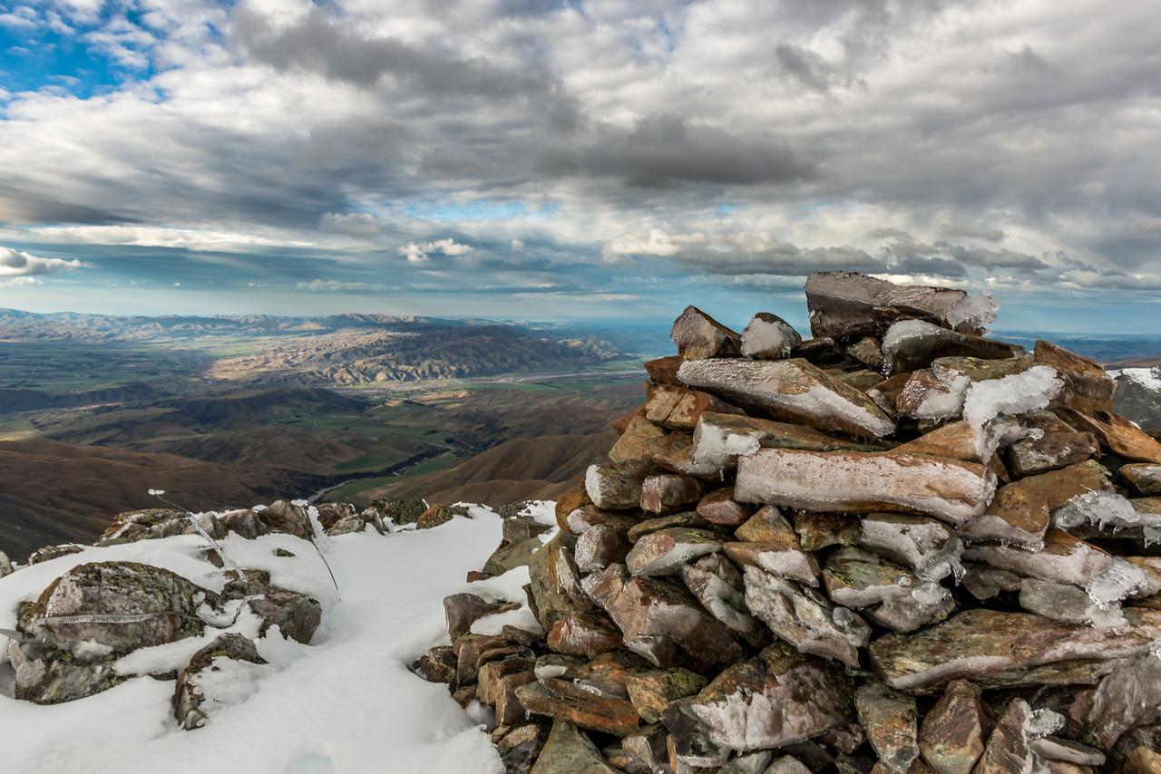 On top of Fosters Peak