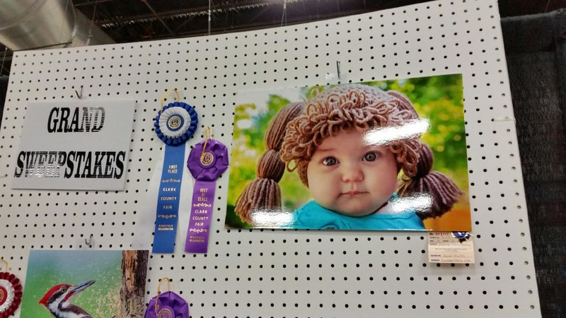 2015 Grand Prize at the Clark County Fair