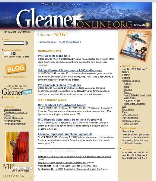 2011 06-12 Gleaner