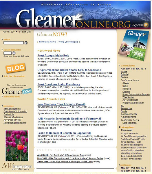 2011 04-10 Gleaner online -- Photo of the Week