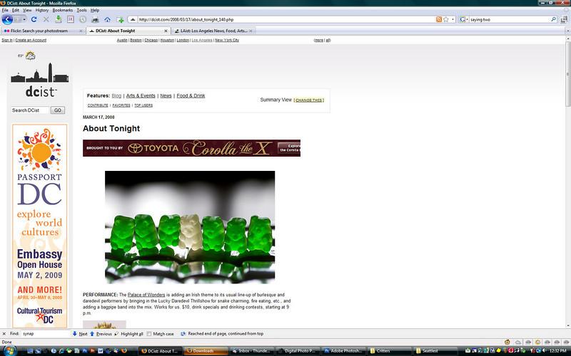 2008 3-17 DCist online newspaper