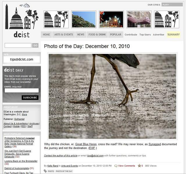 2010 12-11 DCist online news
