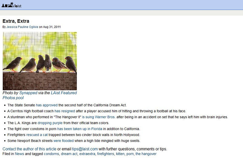2011 08-31 LAist online news