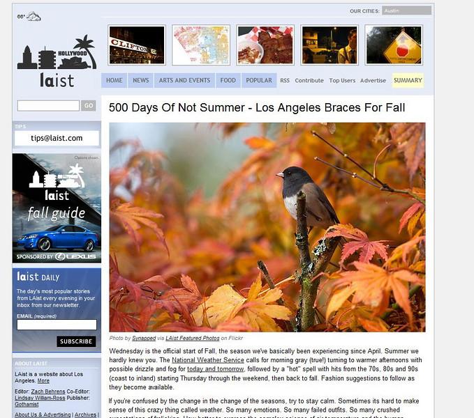 2010 09-21 LAist online news