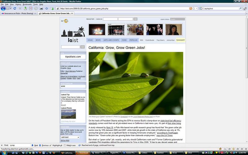 2009 1-28 LAist online newspaper