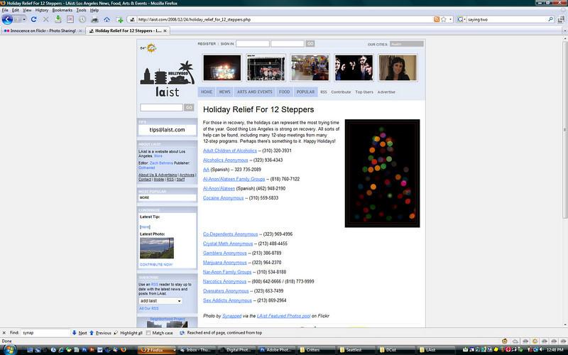 2009 12-24 LAist online newspaper