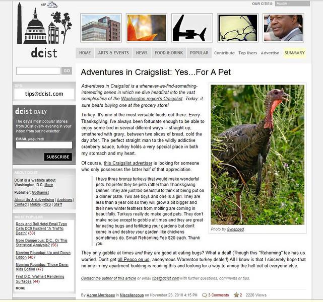 2010 11-23 DCist online newspaper