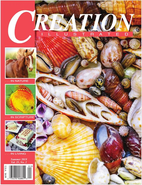 Creation Magazine, Summer 2018