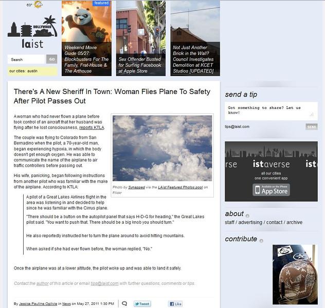 2011 05-27 LAist online newspaper