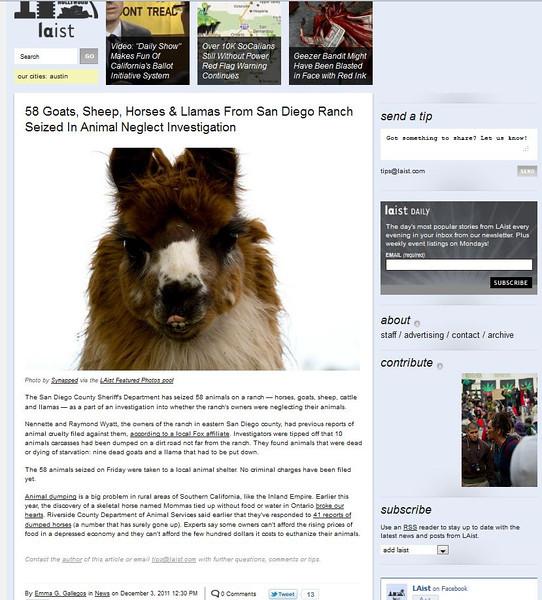 2011 12-03 LAist online newspaper