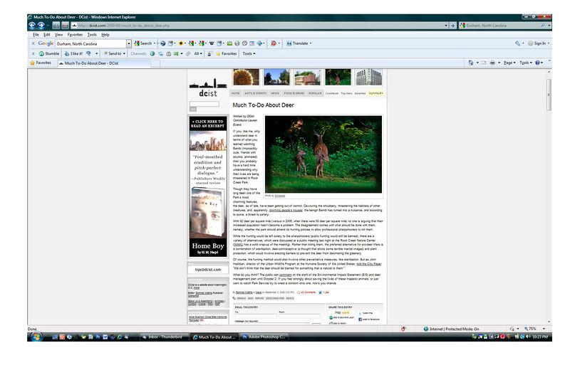 2009 9-03 DCist online newspaper