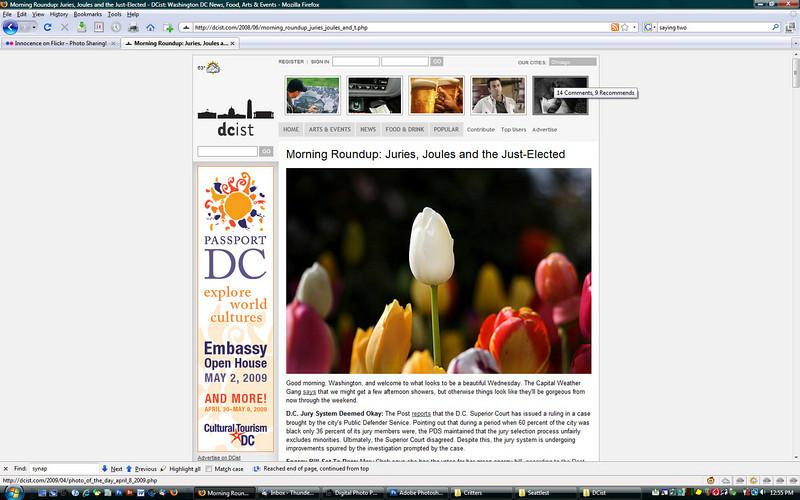 2008 6-18 DCist online newspaper