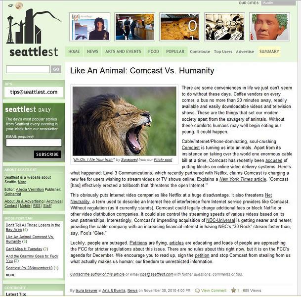 2010 11-30 Seattlest Online newspaper