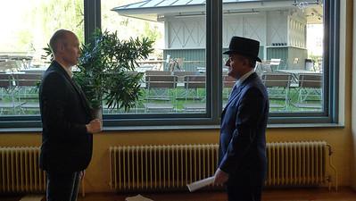Rehearsal, Doctor honoris causa,  May 15, 2009, Linköping University,  Sweden