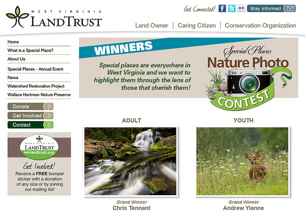 Grand Winner of the West Virginia Land Trust's inaugural photo contest.